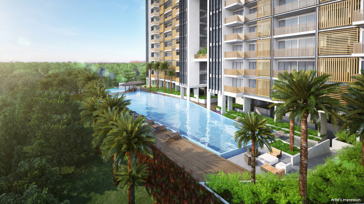 Tre Residences Condo Site Plan Pool
